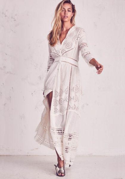 Loveshackfancy Rosalie Dress