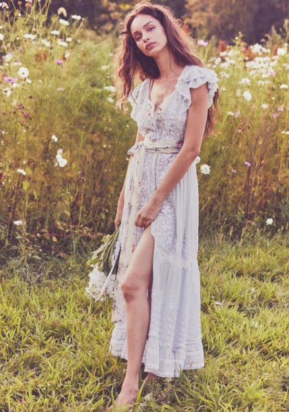 Love Shack Fancy Valentina Dress