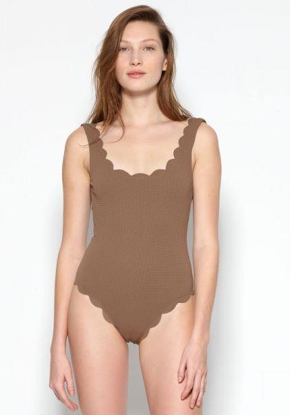 Marysia Palm Springs swimsuit Toffee