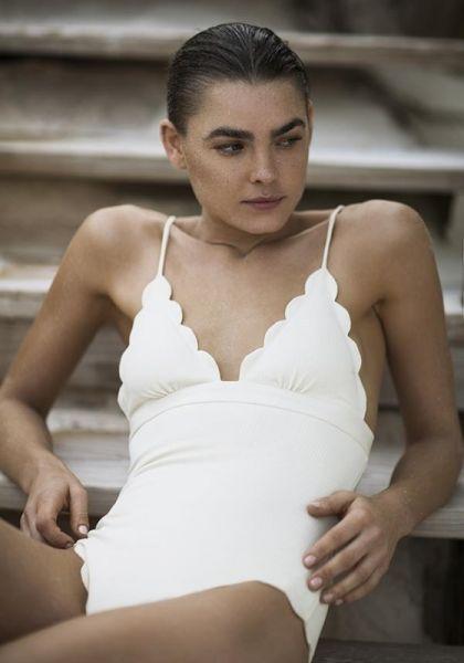 Marysia Santa Clara Swimsuit Panna