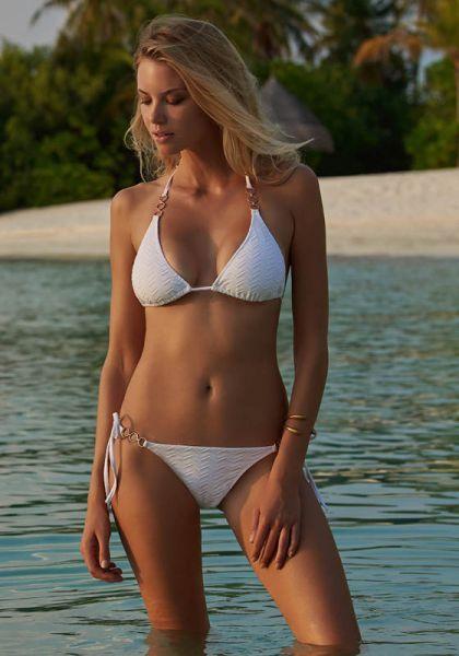 Melissa Odabash Anguilla Bikini White
