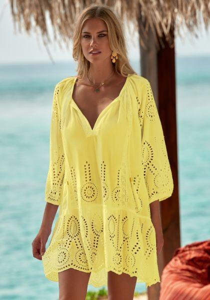 Melissa Odabash Ashley Dress Lemon