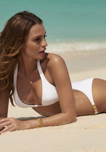 Melissa Odabash Athens Bikini White