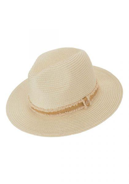 Melissa Odabash Fedora Hat Cream/Gold