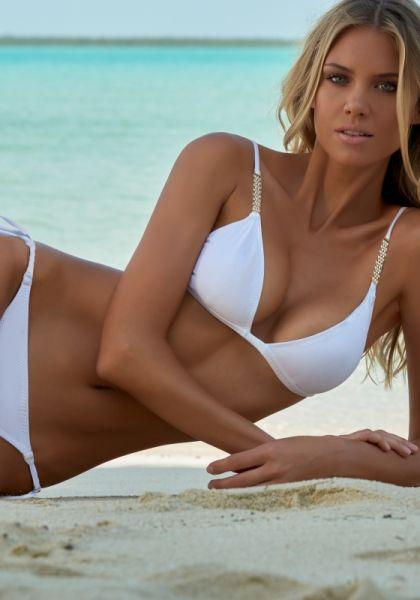 Melissa odabash Maldives Bikini White