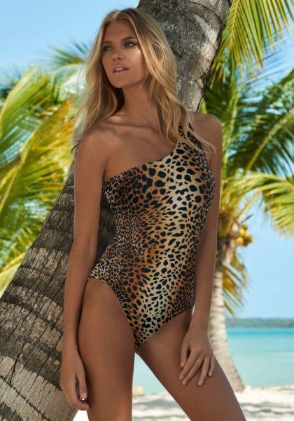 Melissa odabash Palermo Swimsuit Cheetah