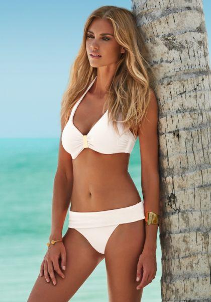 Melissa Odabash Provence Bikini White