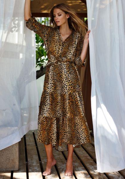 Melissa Odabash Sonja Dress Cheetah