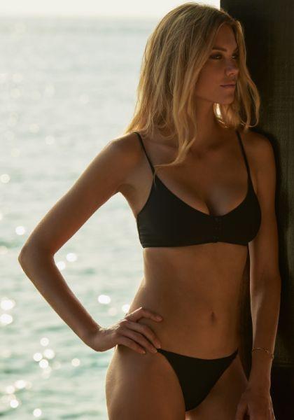 Melissa Odabash St Tropez Bikini Black