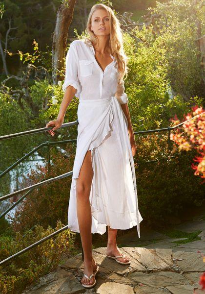 Melissa Odabash Danni Wrap Skirt