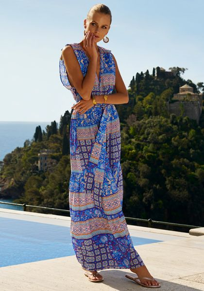 Melissa Odabash Aria Dress Bohemian