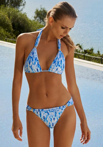 Melissa Odabash Grenada Bikini Waterfall