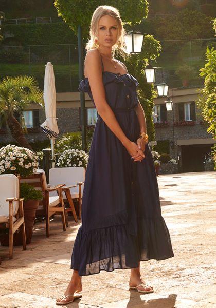 Melissa Odabash Kyla Dress Navy