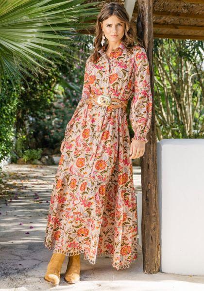 Miss June Amber Dress