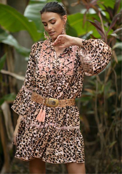 Miss June Bangala Dress Jungle Peach