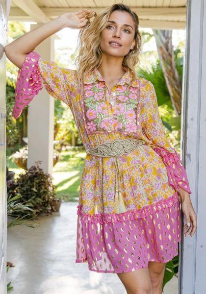 Miss June Jasmina Dress Pink
