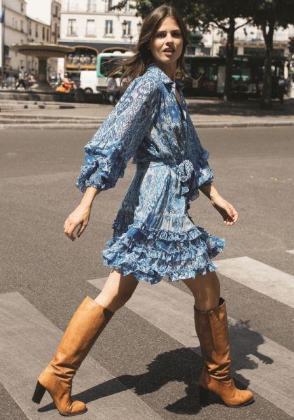 Miss June Sianna Dress Blue