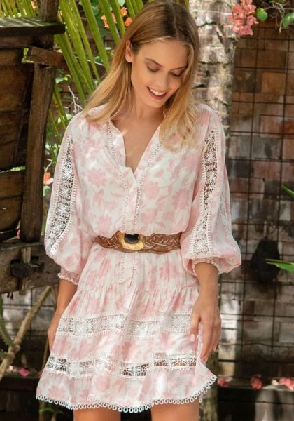 Miss June Studio Dress Pink