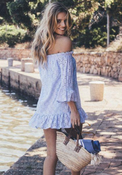 Pampelone Provence Tunic Blue
