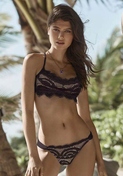 PilyQ Coco Lace Bralette Bikini