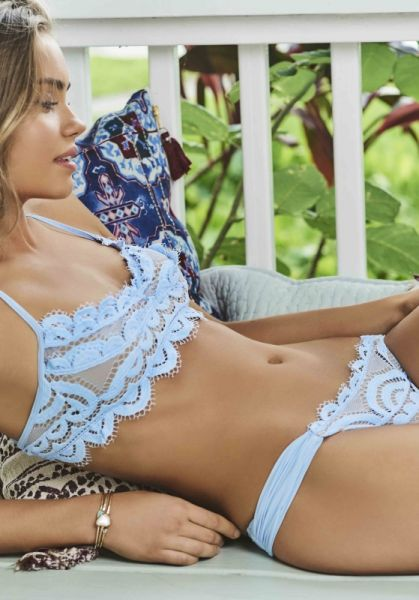 PilyQ Lace Bralette Bikini