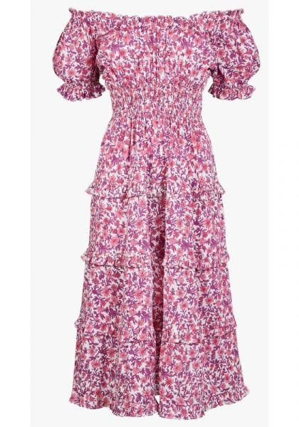 Pink City Prints RAh Rah Dress Lavender Lolita