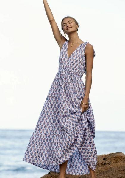Jasmin Maxi Dress Peach Blossom