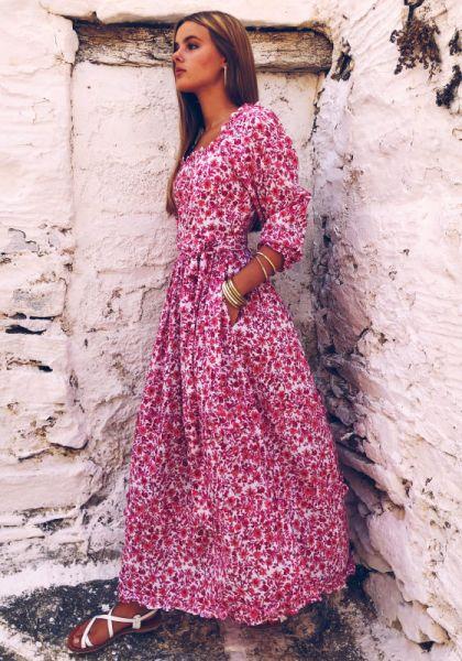 Pink City Prints Marianne Dress Rose Lolita