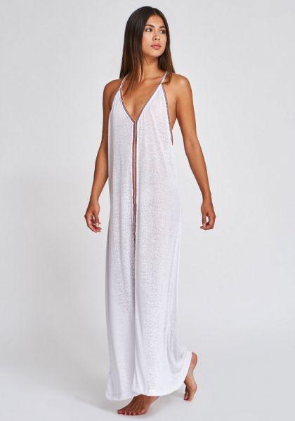 Pitusa Cheetah Sun Dress White