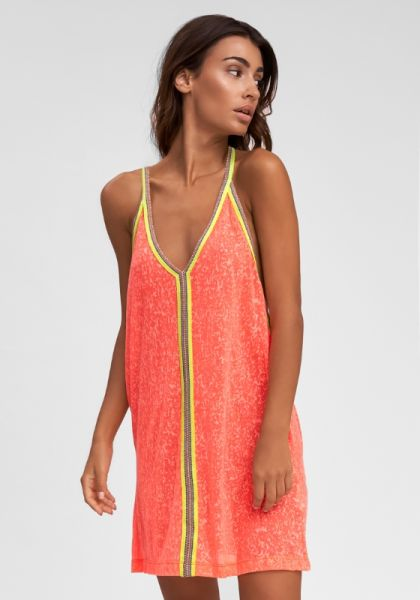 Pitusa Inca Mini Dress Watermelon
