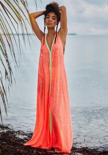 Pitusa flare maxi dress