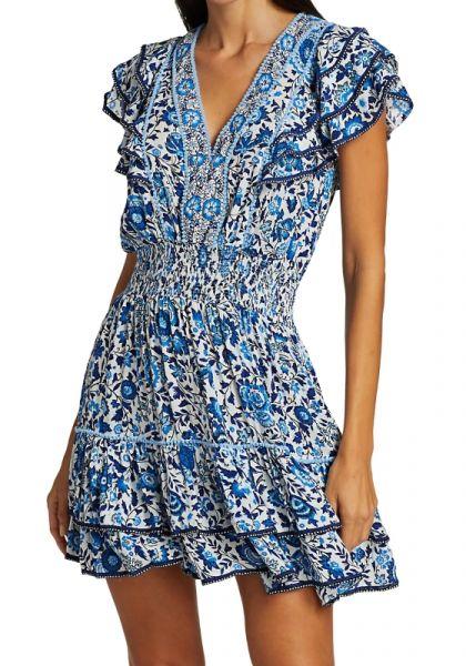Poupette Camilla Dress Blue Celery