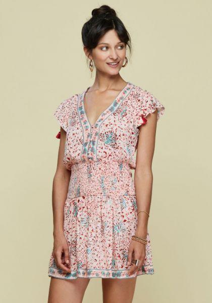 Poupette St Barth Mini Rachel Dress Pink