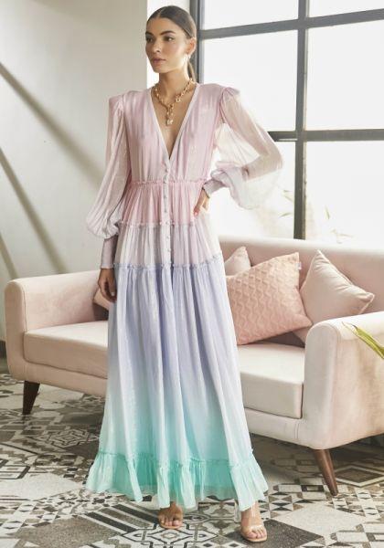 Rococo Sand Emi Long Sleeve Dress