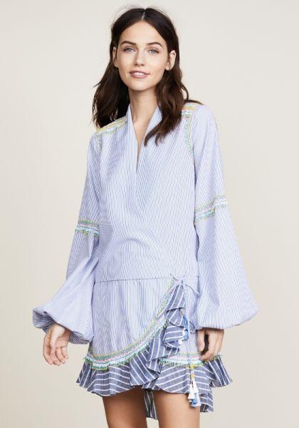 Rococo Sand Listra Wrap Dress