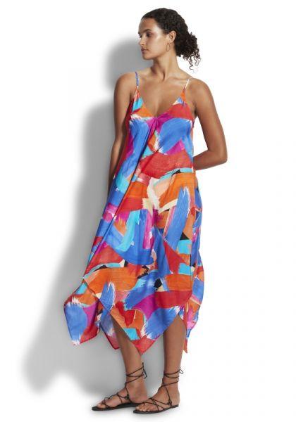 Seafolly Arthouse Scarf Dress