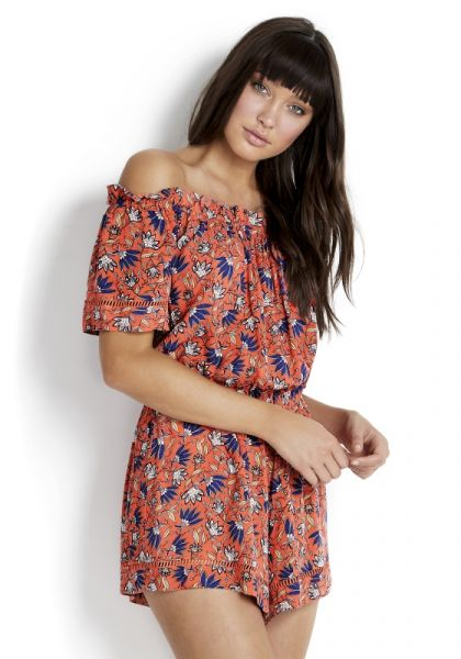 Seafolly Caribbean Ditsy Floral Playsuit
