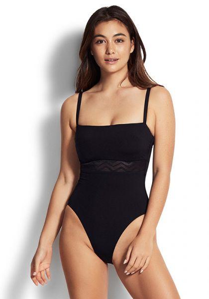 Seafolly Zig Zag DD Swimsuit