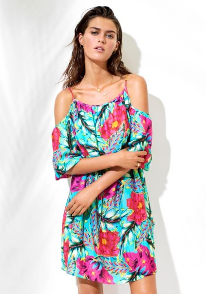 Seafolly Ibiza Cold Shoulder Dress