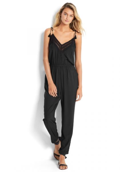 Seafolly Lace Trim Jumpsuit