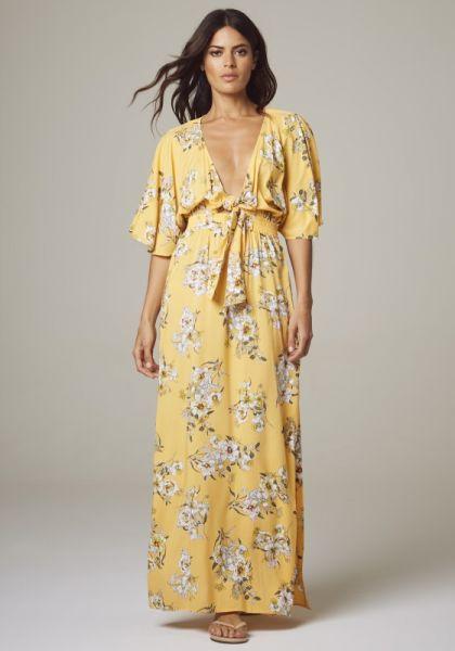 Midsummer Maxi Dress Buttercup