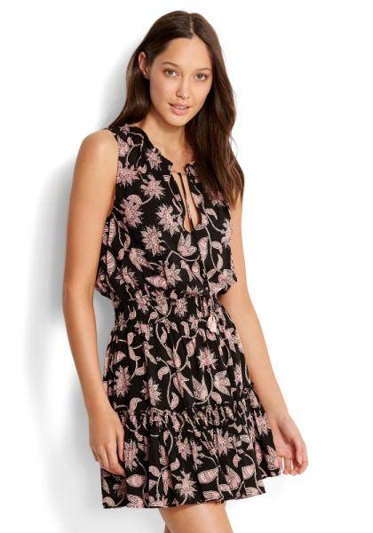 Seafolly Mono Batik Dress