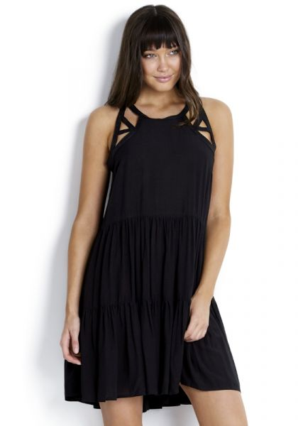 Seafolly Multi Stitch Tiered Dress