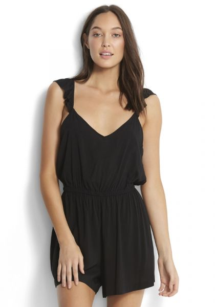 Seafolly Ruffle Strap Playsuit