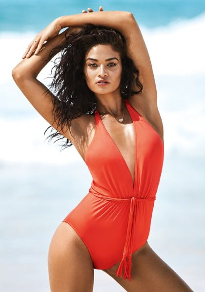 Deep V Swimsuit Sienna