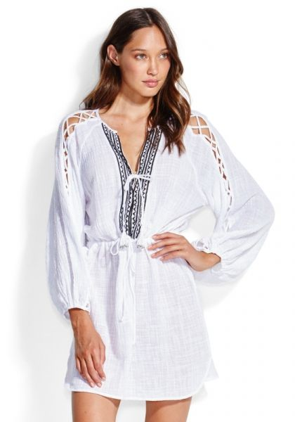 Seafolly Sleeve Detail Tunic