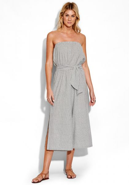 Seafolly Stripe Strapless Jumpsuit