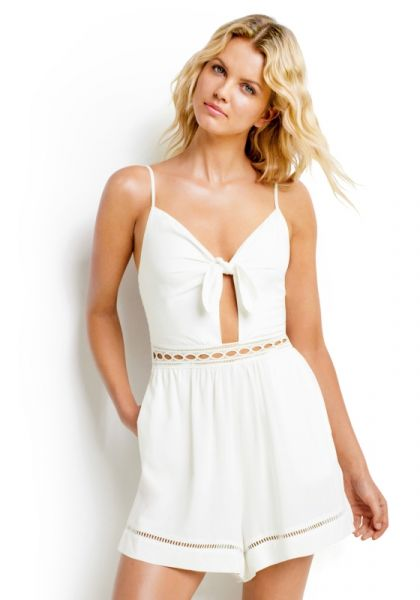 Seafolly Tie Front Playsuit