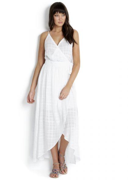 Seafolly | Dobby Stripe Wrap Dress