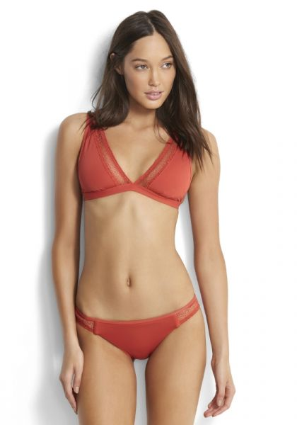 Seafolly Wild at Heart Longline Bikini Spice